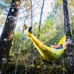 ultralight camping hammock sea to summit yellow